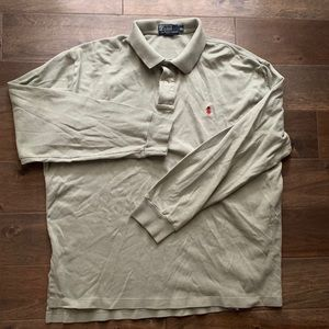 Ralph Lauren Mens long-sleeved polo. XL.